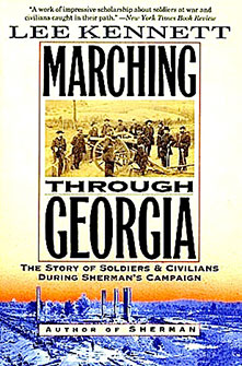 "Couverture du livre ""Marching through Georgia"""